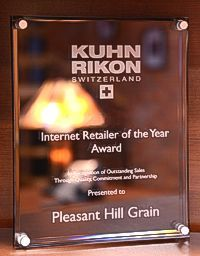 Kuhn Rikon Dealer of the Year award