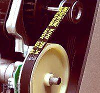 Ankarsrum belt drive