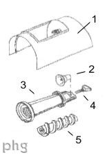 Parts for Universal Fruit & Berry Press Attachment