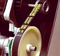Ankarsrum mixer belt drive