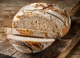 Artisan bread boule