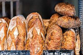 Italian bread market