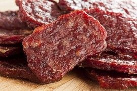 Dried cured meat