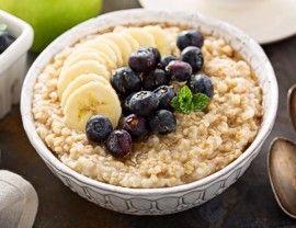Irish oatmeal, steel cut oats