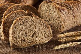 whole grain sourdough sliced