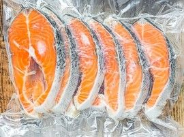 Vacuum sealed seafood