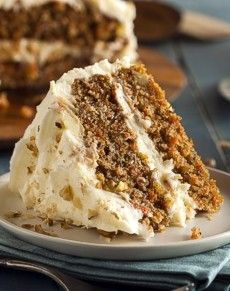Whole grain carrot cake