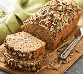 whole grain nut seed bread